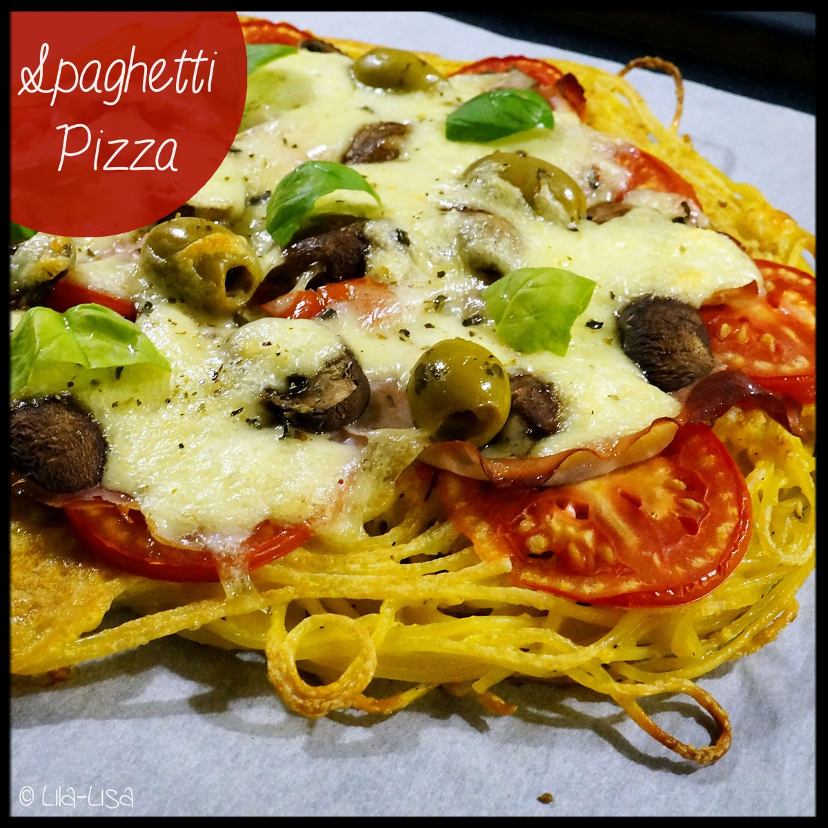 Montags-Pasta: Spaghetti-Pizza